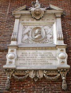 Placa_conmemorativa_Cervantes