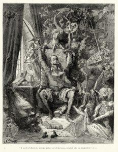 Ilustración del Quijote por Gustavo Doré